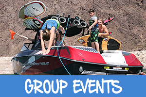 Las Vegas water group events